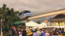 Marine park train