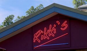 Rikki's Neon Sign
