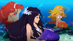 Mermaid Heroes Under the Sea