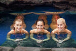 Girls in Moon Pool
