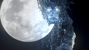 Water Dragon's Face
