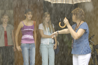 Mermaids vs The Rain
