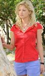 Rikki With Red Shirt