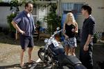 Zane Repairing Motorcycle