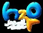 H2O Logo White