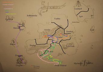 Revised map of Sighisoara