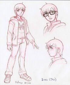 Ike concept sketch