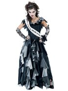 Womens Zombie Prom Queen Costume