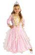 Kids Pink Fairy Rose Princess Girls Light Up Fancy Dress Costume