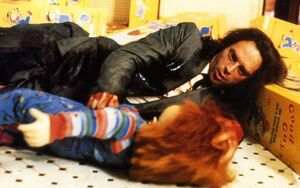 Charles Lee Ray with Chucky