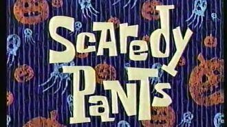SpongeBob SquarePants Scaredy Pants I Was a Teenage Gary