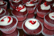 Vampire Blood Red Velvet Cupcakes - New Moon Party- Twilight Saga