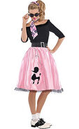 Adult Sock Hop Sweetie '50s Costume
