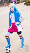 Equestria girls rainbow dash by cosplayhazard-d8l8vwo