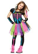 Girls-funky-punky-bones-costume