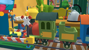 Handy Manny Train Set Railroad Crossing 05