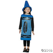 Kid's Blue Crayola® Crayon Costume