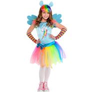 Girls Rainbow Dash Costume