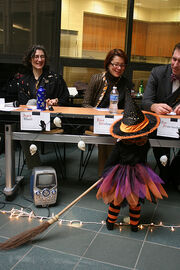 Little witch and the judges