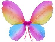 Butterfly Wing Fairy Wing Costume for Girls – Rainbow