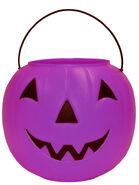 General Foam Plastics Purple Pumpkin Halloween Trick-or-Treat Pail