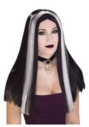 Long-black-and-white-streaked-wig