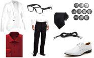 Gideon Graves costume parts
