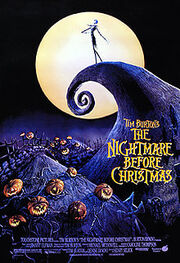 The nightmare before xmas poster
