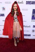 Olivia Sanabia as Little Red Riding Hood, Dream Halloween 2016