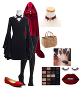 31 Days of Halloween Costumes (Day 9 - Gothic Little Red Riding Hood)