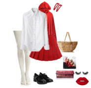 31 Days of Halloween Costumes (Day 8 - Little Red Riding Hood)