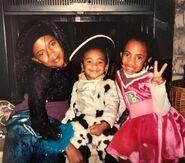 A pop star, a cowgirl and a cheerleader, circa 2001