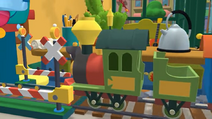Handy Manny Train Set Railroad Crossing 04