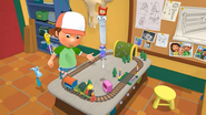 Handy Manny Train Set