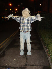 Scary scarecrow!