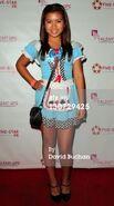 Kaley Bowler as Alice in Wonderland, at the 2011 Halloween Bash & Concert Benefit