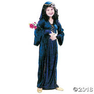 Juliet Velvet Girls Halloween Costume - Medium