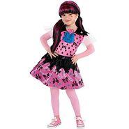 Little Girls Draculaura Costume - Monster High