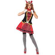 Royal White Rabbit 3-Piece Adult Halloween Costume