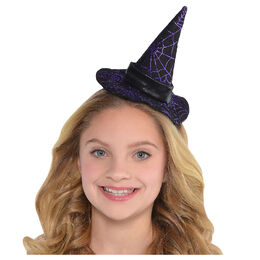 Spider Web Witch Hat Headband