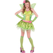 Teen Girls Tinker Bell Costume