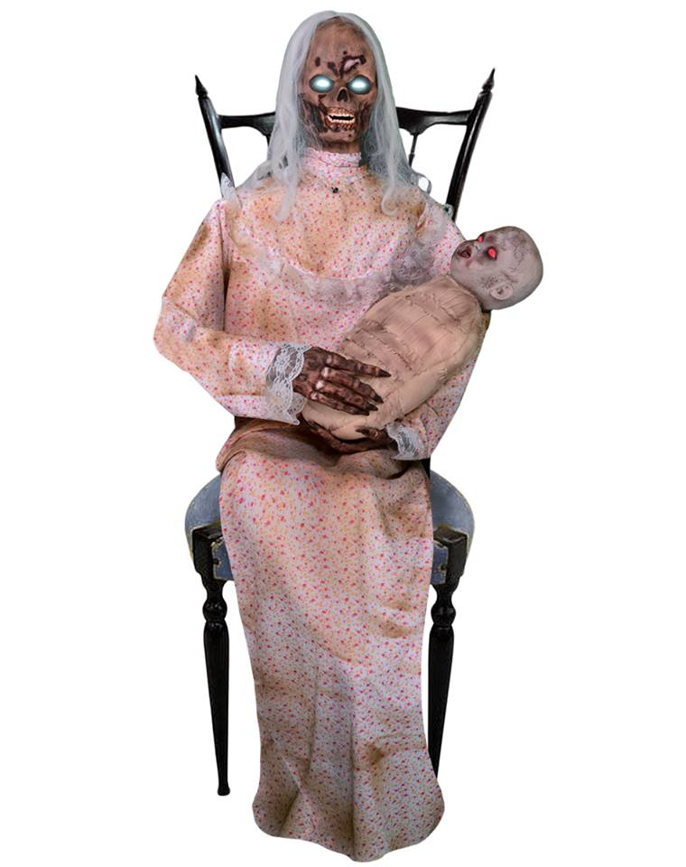 gruesome granny the gruesome granny animated decoration