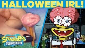 Scaredy Pants in IRL HALLOWEEN Episode 😖 SpongeBob