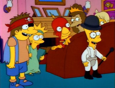 Halloween Simpsons Treehouse Of Horror.The Simpsons Treehouse Of Horror Iii Halloween Wiki Fandom
