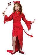 Girl's Devil Costume FW5867