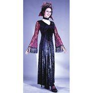 Fun World Womens 'Gothic Lace Vampiress' Halloween Costume