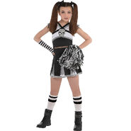 Girls Ra Ra Rebel Cheerleader Costume