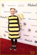 Abby Donnelly as a bee for Dream Halloween 2016