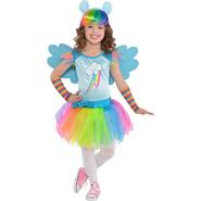 Toddler Girls Rainbow Dash Costume
