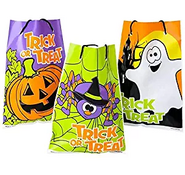 Rhode Island Novelty Halloween Theme Trick Treat Drawstring Goody Bags